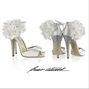 Signed by Brian Atwood Aurora bridal sandals